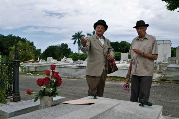Reinaldo Miravalles (Lino) y Enrique Molina (Larry Po)