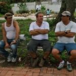 Ariam Rivera, Luis M. Escuela y Ovideo Gastón