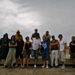 Integrantes del equipo de filmación